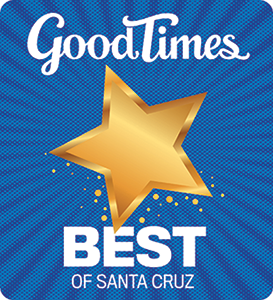 Voted Best LASIK Doctor by Santa Cruz Good Times