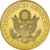 "Jefferson Award - the ""Nobel Prize"" for community and public service for the Furlong Vision Correction Gift of Sight program"