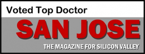 Chosen by his peers as one of San Jose's Top Docs