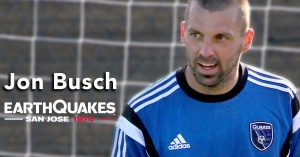 Jon Busch, Former San Jose Earthquakes Goalkeeper