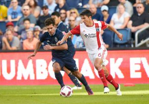 LASIK surgery has allowed Shea Salinas to focus on the soccer ball